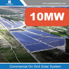 Grid tied solar system, solar power system 10mw