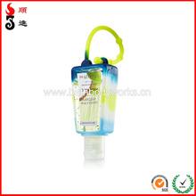 wholesale silicone holder/cover/case for 60ml/2oz hand sanitizer bottle