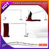 Easy setup pipe and drape kit system