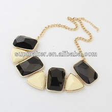 Fashion epoxy victorian jewelry resin necklaces
