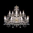 BOHEMIA CRYSTAL 15-light chandelier
