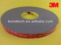 3M VHB acrylic foam tape for wood/drywall/concrete/glass