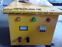 Hydrogen car, truck, electricity genset fuel saver
