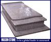 Hot sale pink granite headstone cover
