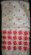 DRESS MATERIAL embroidered PHULKARI SALWAR KURTA DUPATTA FABRIC MATERIAL