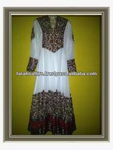 Wedding Dress Jamawar Borders