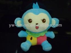 Stuffed Plush Soft Blue Monkey