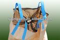 1000kg recipiente pp saco da embalagem para lenha, tipo u, a monsanto saco