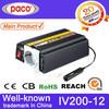 200watt car power inverter 12v invertor with PWM output regulation
