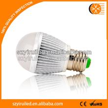 light bulb adapt lights 5W E27 SMD5730 led bulb 3 years warranty