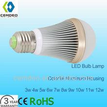 10w light 10watt lights 10watts lighting colorful aluminum alloy heat sink PC cover