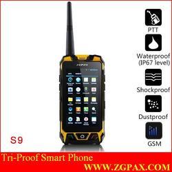 2 SIM Rugged Phone S9