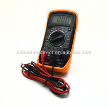 Mini pocket multimeters digital volt amp meter CE certificated