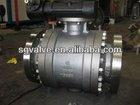 RF Flange SS ball valve manual operation