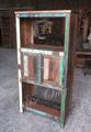 aumento apenas recuperado de madeira aberto prateleira estante móveis de design na índia