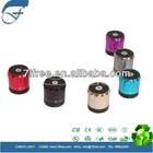 Bluetooth mini speaker for mobile phones aluminum beer barrel audio box