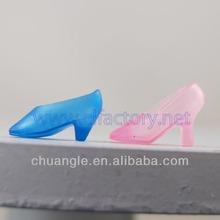 Plastic Toy Shoes, PVC Toy Shoes, Vinyl Shoes Toy