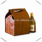 PU Leather Wine Box, Wine Carrier, Wine Bag