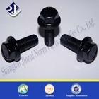 black zinc flange bolt grade 12.9