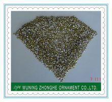 Glass quality machine cut sew on flat back acrylic rhinestones ss4.5-ss39