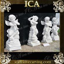ICA,beautiful stone angel sculpture,angel garden statue