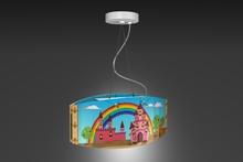 """""""Castle"""" Children's ceiling light/ Nursery/ ceiling lamp modern"""