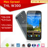 "Newest Android cheap smart phone 6.5"" THL W300 mtk6589t 1.5GHz Dual Camera 2GB RAM 32GB ROM THL W300 Quad Core smart phone"