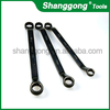 Concave type Box End Wrench Mirror Polish General Quality stainless steel spanner electric car jack and impact wrench