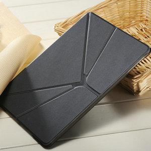 Fashion leather case for ipad mini 2 with 3 ways standing , flip cover for ipad mini , for ipad mini 2 leather case
