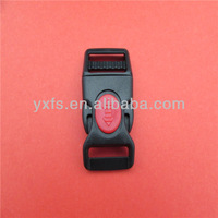 New product plastic curved side release buckle