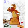 La alta calidad del esmalte de la estatuilla de caballo para regalo de escritorio