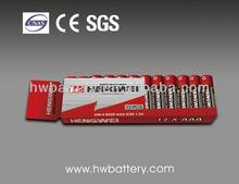R03P/AAA/UM-4 Shrink Card battery Dry battery