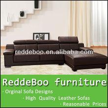 Sofa furniture guangzhou,red and black leather sofa