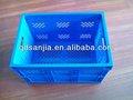 De plástico plegables de almacenamiento de colores caja de herramientas/durable de plástico cesta/de usos múltiples de la caja de plástico doblado baratos kit de herramientas