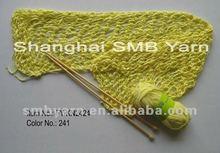 bamboo natural tape yarn for hand knitting