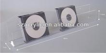 Acrylic wall-mounted shelf