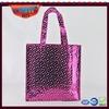 Colorful shinning nonwoven shopping bags Metallic shinning nonwoven bag Colorful metallic nonwoven bag