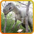 la decoración del paisaje de dinosaurios animatronics dinosaurio marioneta