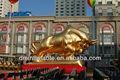 Personalizadas de publicidad inflables de la promoción de la vaca, inflable modelo de dibujos animados, de dibujos animados inflables modelo animal