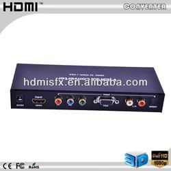 hdmi to vga +rca with spdif audio converter