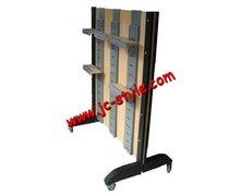 adjustable metal sport shoes display stand/POP shoe shop display rack/metal pos display stand