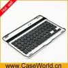 High quality Aluminum Bluetooth keyboard for ipad mini 2 keyboard