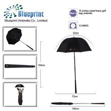 16inch windproof special golf club umbrella golf bag