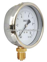 pressure gauge bourdon tube
