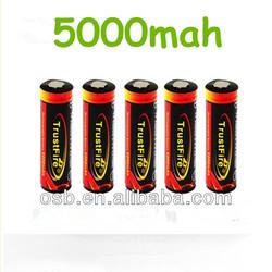 high capacity 18650 li-ion rechargeable battery/2450mah business battery high capacity/high capacity gold battery