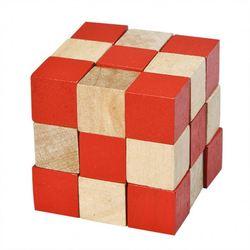 wooden Snake Cubic Blocks,magic snake PY4082