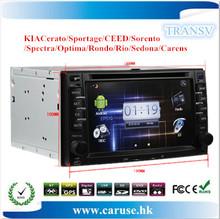 car dvd for kia Cerato/Sportage/CEED/Sorento/Spectra/Optima/Rondo dvd car with 3D Rotating UI PIP GPS BT TV IPOD RADIO 3G WIFI