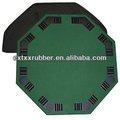 Holdable mesa de póquer esteras/alfombrillas, holdable de mesa de casino superior con 8 asientos