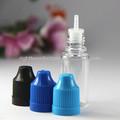 Iso 8317/sgs/tuv certificatedeee nome di collirio, chiaro bottiglia eliquid, 10ml bottiglia vuota