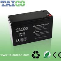 rechargeable sla storage UPS vrla battery 12v 7ah